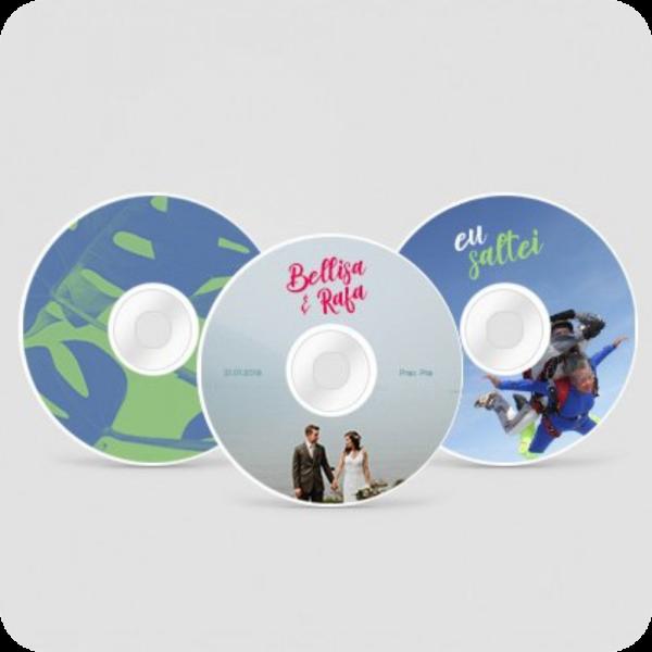 Adesivos CD e DVD