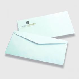 Envelope Timbrado Sulfite 75g  Impressão Colorida (4x0) Fundo Branco