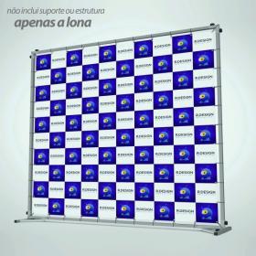 Lona Backdrop Lona com Ilhoses Tamanho Personalizado
